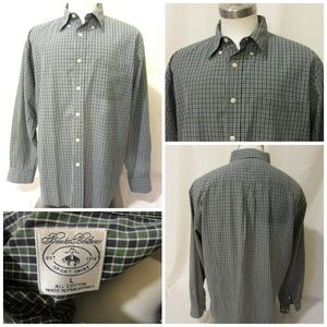 Brooks Brothers Shirt Men's Large Button Down